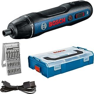 Bosch Professional accuschroevendraaier Bosch GO (incl. 25-delige bitset, USB-laadkabel, L-BOXX Mini) - Amazon Exclusive