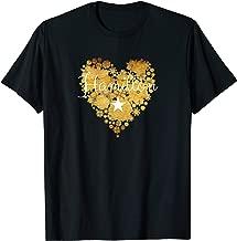 I Love Hamilton Heart | Gift for Teenage Girl Women T-Shirt
