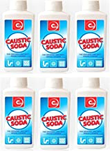 6 X CAUSTIC SODA Sink Toilet Drain UNBLOCKER Powder Cleaner Strong