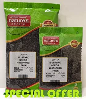Natures Choice Mustard Seeds - 400 gm +100 gm