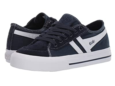 Gola Quota II (Toddler/Little Kid) (Navy/White) Men