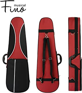 4/4 Full Size Violin Case,FINO Professional Triangular Shape Violin Hard Case,