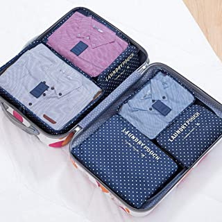Packing Cubes Multifunction Travel Compression Bags Portable Travel Kit Suitcase Organiser Bags/Eleven Colors Optional QDDSP (Color : E)