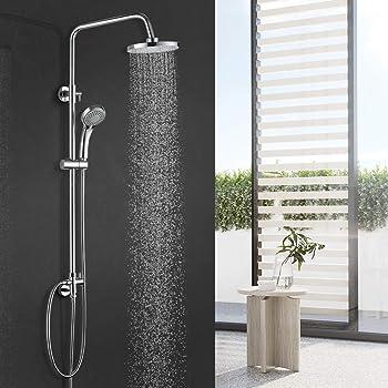 llevado Tubo 02 Barra de pared lluvia ducha brazo ducha grifo grifo pared