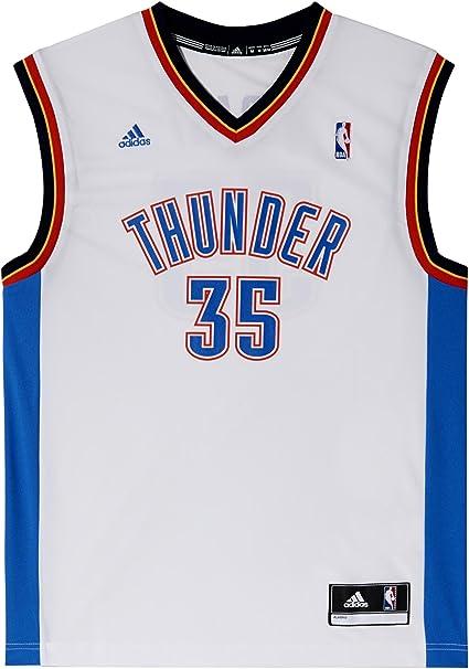 adidas Trikot NBA Oklahoma City Thunder Durant Replica - Camiseta de Baloncesto