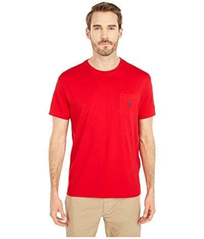 Polo Ralph Lauren Classic Fit Pocket Tee (RL2000 Red) Men