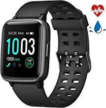 LETSCOM Fitness Tracker with Heart Rate Monitor, Activity Tracker, Step Counter, Sleep..