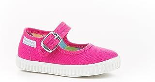 Zapatillas Merceditas de Lona para Niñas, Angelitos mod.123