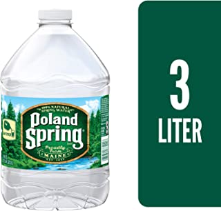 Poland Spring Brand 100% Natural Spring Water, 101.4 Oz Plastic Jug