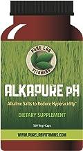 Pure Lab Vitamins Alkapure pH - 180 Vegi Caps Calcium Free, Sodium : Potassium Balanced Alkaline Salts to Improve Body pH
