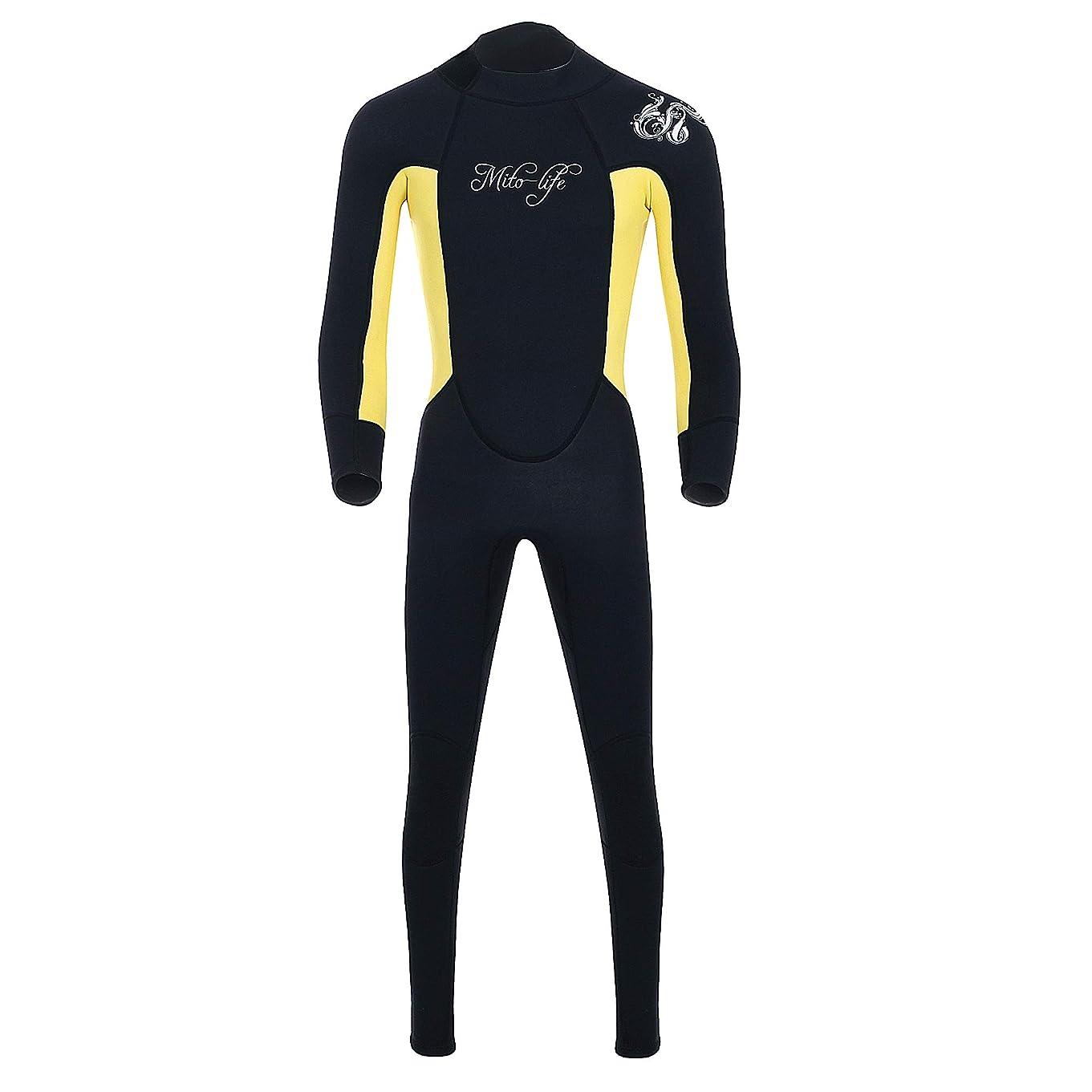 ポルティコカテナコンペウェットスーツ 3mm サーフィン ウェットスーツ ロングスリーブ ダイビング サーフィン 連体長袖 防寒保温 連体 フルスーツ