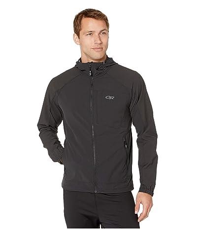 Outdoor Research Ferrosi Hooded Jacket (Black) Men
