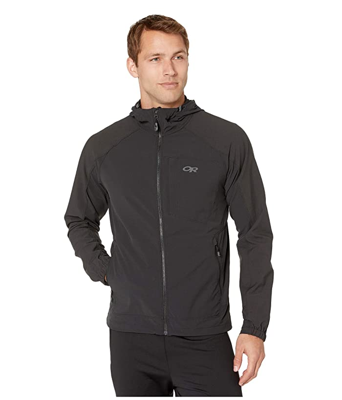 Outdoor Research Ferrosi Hooded Jacket (Black) Men