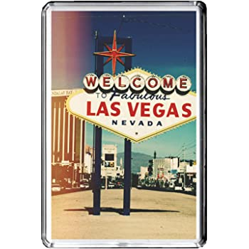 E267 LAS VEGAS AIMANT POUR LE FRIGO USA TRAVEL PHOTO REFRIGERATOR MAGNET