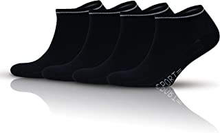 GoWith 4 Pairs Men's Cotton Sports Booties/Short Socket Socks | 3116