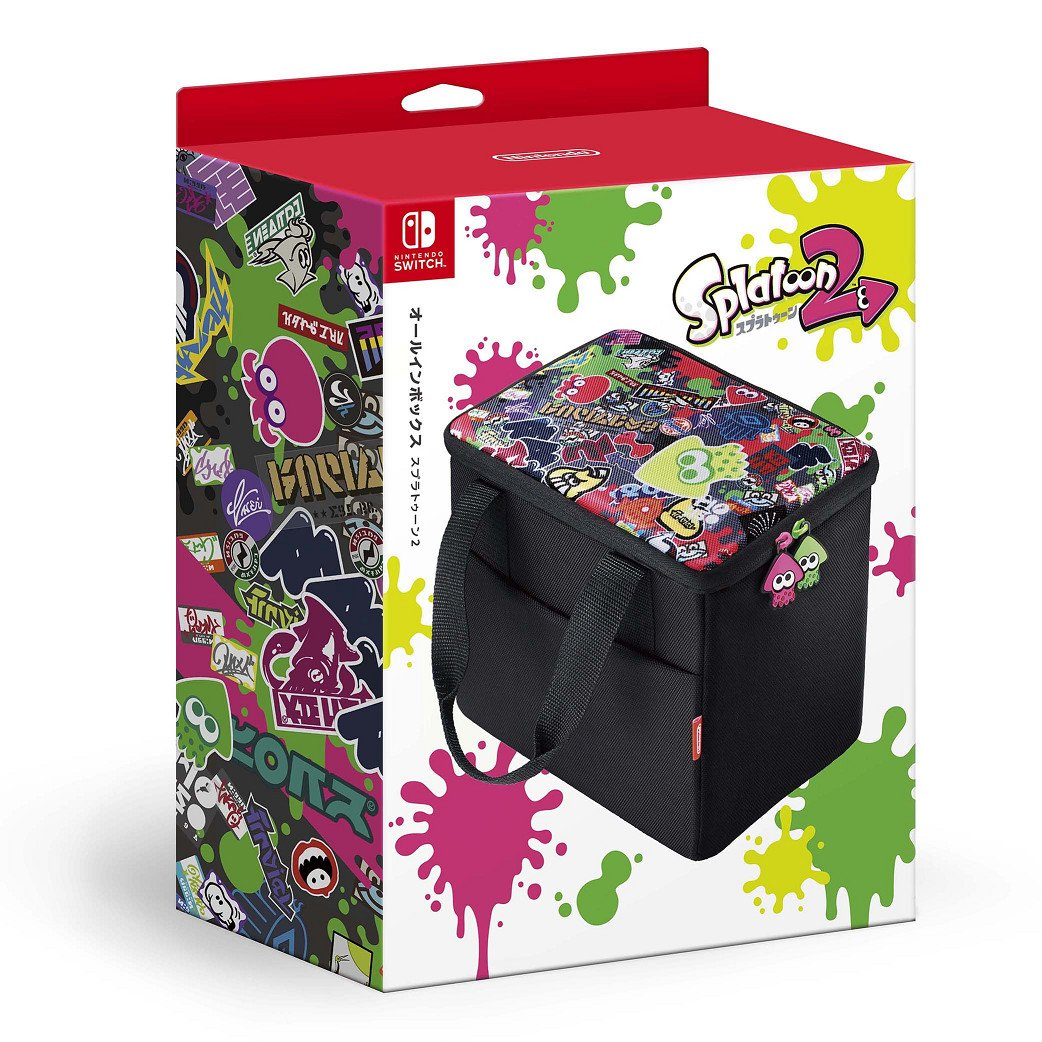Nintendo Switch All In Box Splatoon 2 Caja Bolsa: Amazon.es ...