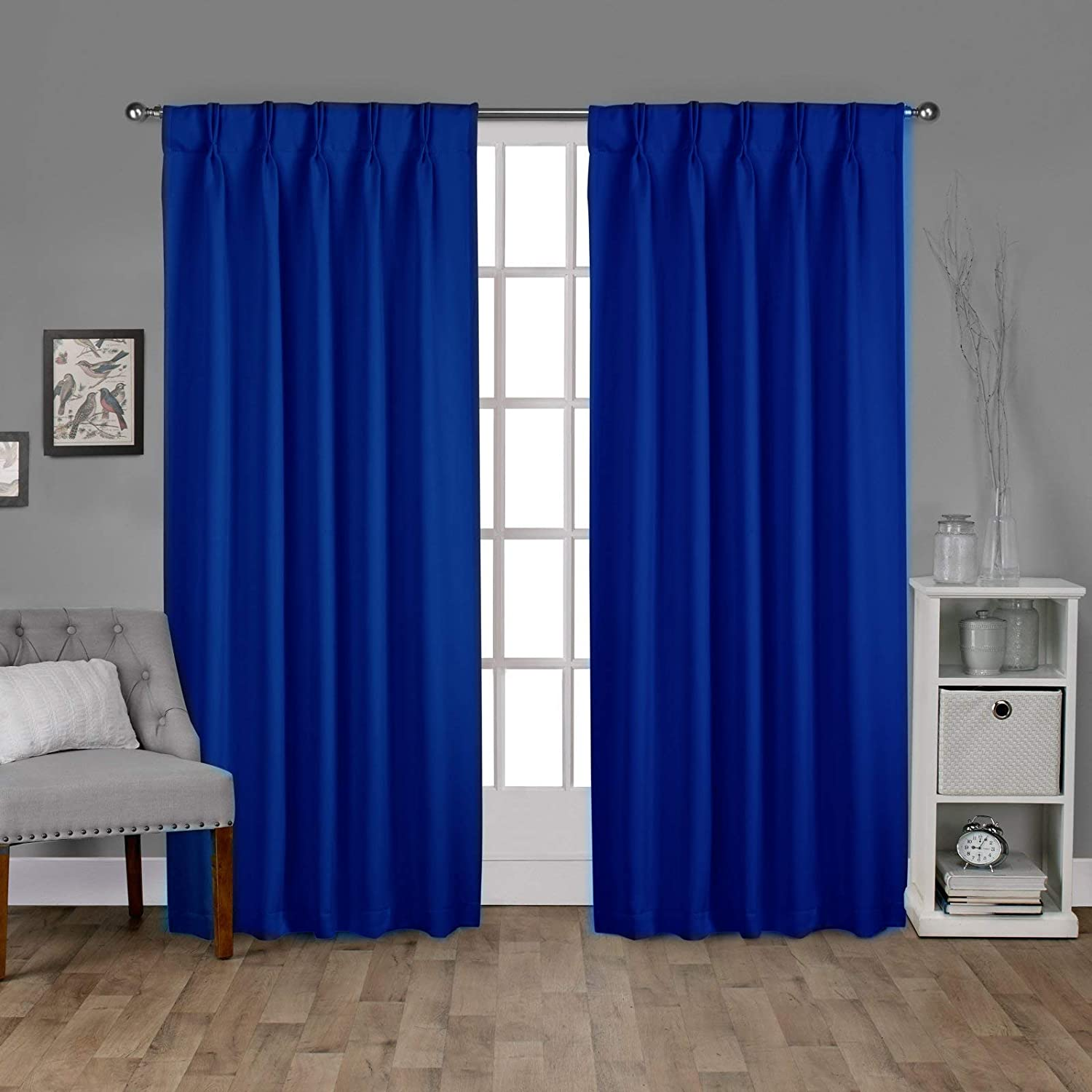 Popular brand Double Pinch Pleated Large Size Panel discharge sale Curtains Single in Perfect