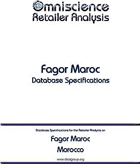 Fagor Maroc - Morocco: Retailer Analysis Database Specifications Omniscience Retailer Analysis - Morocco Book 34988 English Edition