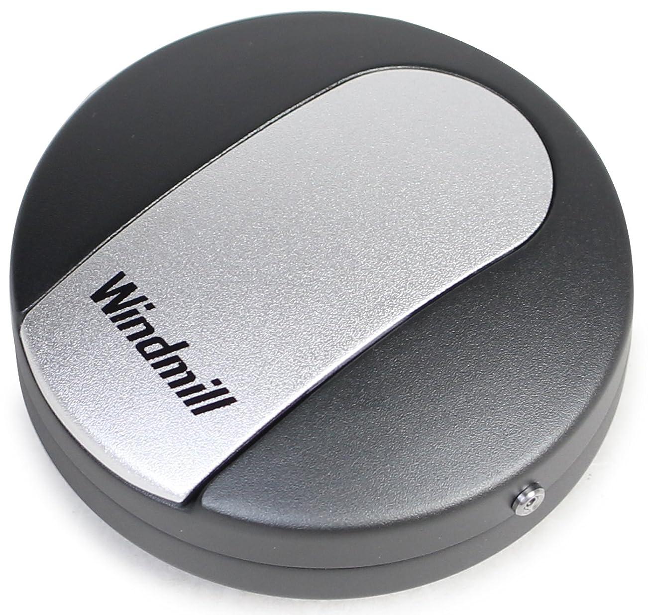 イソギンチャク巨人露WINDMILL(ウインドミル) 携帯灰皿 スライド式 アルミ製 WA03