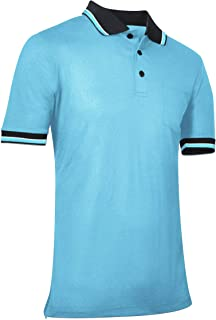 Champro Polo de béisbol y sóftbol, poliéster, Talla XL, Color Azul Claro