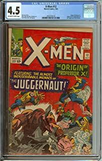 X-MEN #12 CGC 4.5 OW/WH PAGES