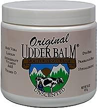 Unscented Original Udder Balm Moisturizing Cream 16oz Jar