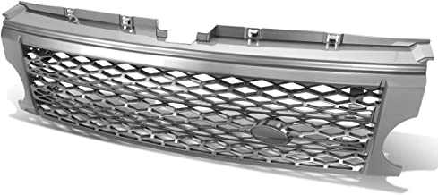 For Land Rover ABS Plastic Mesh Front Bumper Grille (Gray) - Discovery III LR3