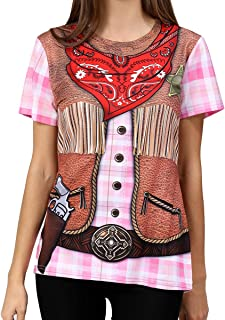 Women's Cowgirl Costume T-Shirts