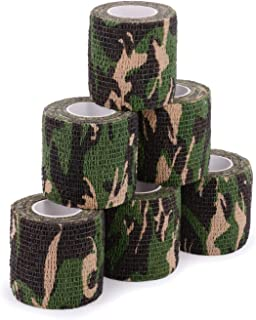 Uning Self-Adhesive Protective Camouflage Tape Wrap 5CM x...