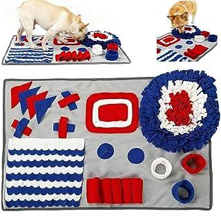 A-QMZL Sniffing Mat - Alfombrilla para adiestramiento de perros y gatos, cojín de aliento, alfombrilla para mascotas, resi...