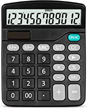 LACALA Color 12-Digit Display Solar Calculator, Suitable for Financial Office and Mobile Use,B photo