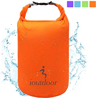 ioutdoor Dry Bag 5L/10L/20L/40L/70L, Ultra Lightweight Airtight Waterproof Bags, Roll Top Dry Sacks Great for Kayaking Rafting Hiking Swimming Camping Boating Water Sports