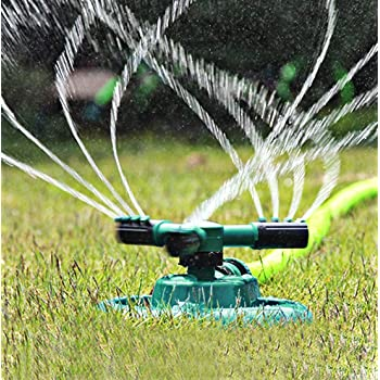 Lawn sprinkler Rotary Three Arm Lawn, Sprayer Water Sprinkler