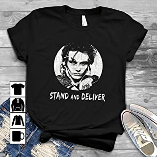 Adam & The Ants Shirts Stand & Deliver T Shirt Long Sleeve Sweatshirt Hoodie Youth