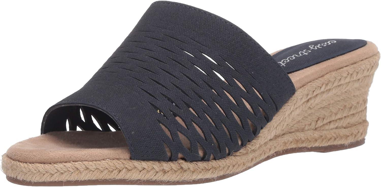 Easy Street Women's Espadrille Wedge Sandal