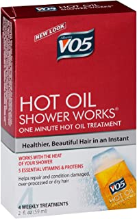 Alberto VO5 Hot Oil Shower Works Weekly Deep Conditioning Treatment 2.oz