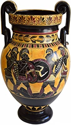 Protector Of Crete The Bronze Giant Red Figure Amphora Vase Talos Death