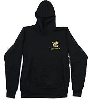 Migos Culture II Tiger Black Pull Over Sweatshirt Hoodie