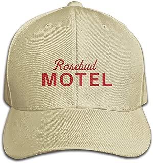 Rosebud Motel Woman's Mens Unisex Cute Baseball Hat Adjustable Fashion Hat Cap Sun Protetion Windproof