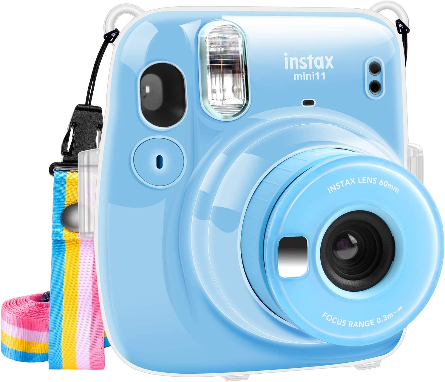 Max 84% OFF Katia Crystal Camera Case for Fujifilm Mini Instant High quality new Instax Fi 11