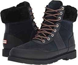 Insulated Leather Commando Boots
