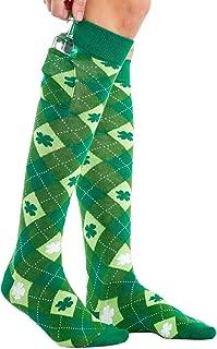 Women's St. Patrick's Day Socks - Funny Green St. Paddy's Socks for Women