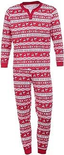 OrchidAmor Man Deer T Shirt Tops Blouse Pants Pajamas Christmas Set Family Clothes Outfits