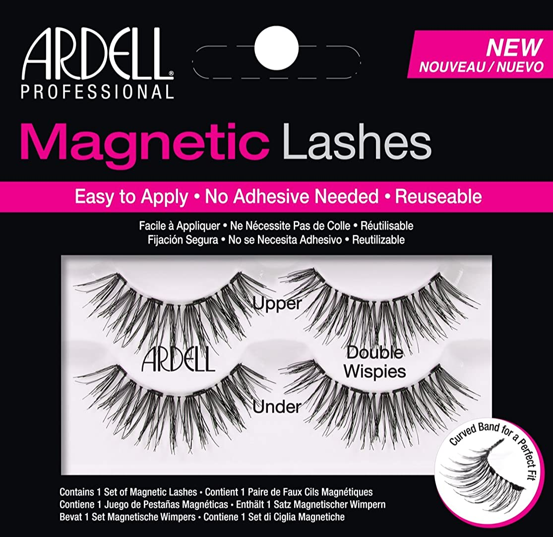 絶望子音移民Ardell Magnetic Lashes Double Wispies