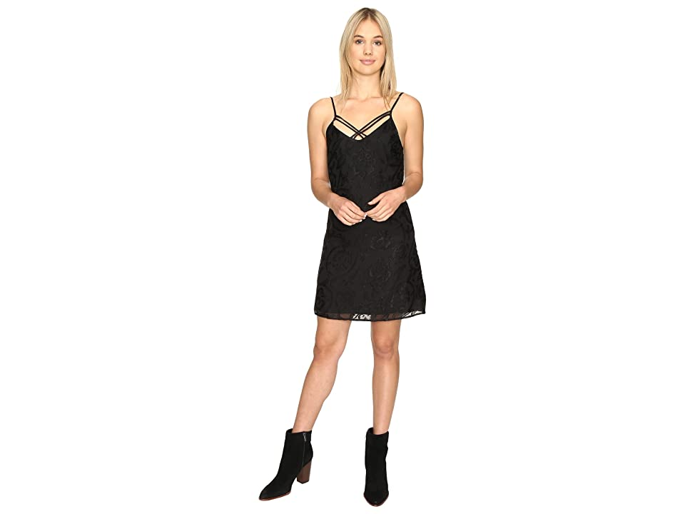 Obey Amanda Slip Dress (Black) Women