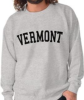 Vermont Athletic Student Gym VT State Pride Crewneck Sweatshirt