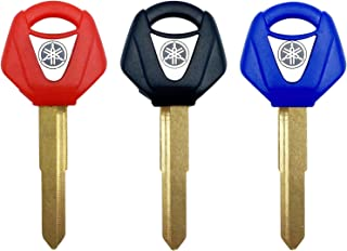 Right Ignition Key Blank Shell Case /& key balde Fit for Yamaha Motorbike Scooter