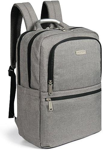 SSK Laptop Notebook Rucksack,M er Schulrucksack Business WasserabWeißnd(SchwarzOder Grau)