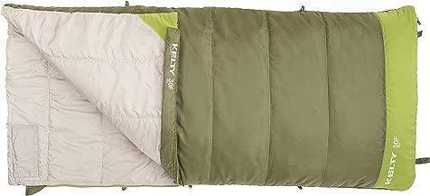Kelty Boys Callisto Kids 30 Degree RH Sleeping Bag, Avocado/Spinach, Short