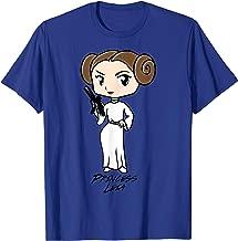 Star Wars Princess Leia Cute Cartoon Graphic T-Shirt